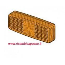 plastica fanale arancio rettangolare