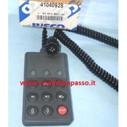 telecomando cabina regolazione diapress IVECO EUROSTAR